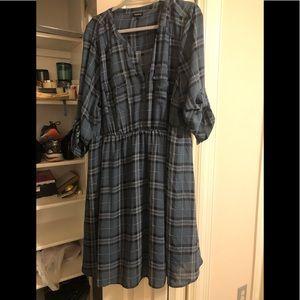 Plaid torrid dress